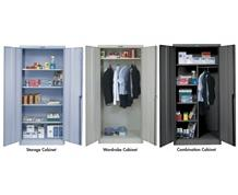 HALLOWELL 800 SERIES HEAVY-GAUGE KD CABINETS